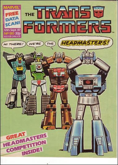 Transformers (UK) 130-A by Marvel UK