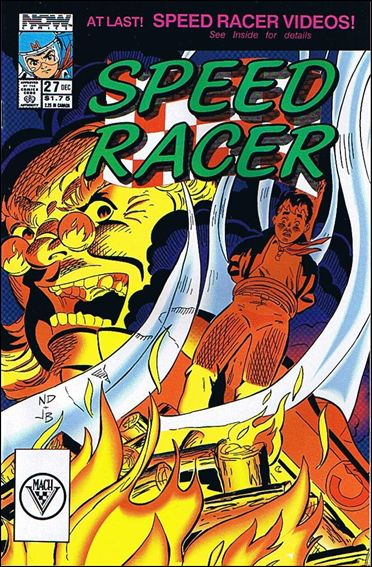 Speed Racer (1987) 27-A by Now Comics