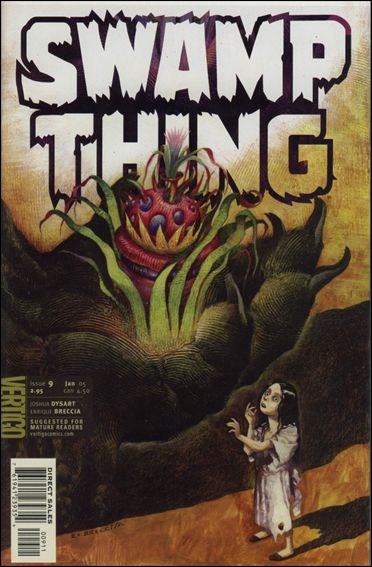 Swamp Thing (2004) 9-A by Vertigo
