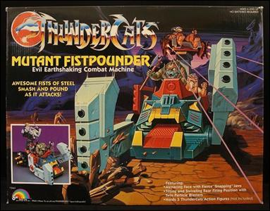 ThunderCats (1985) Vehicles and Accessories Mutant Fistpounder by LJN