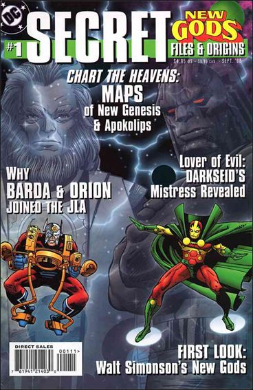 New Gods: Secret Files and Origins 1-A by DC