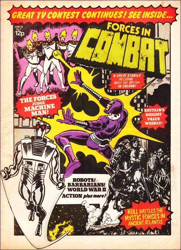 Forces in Combat (UK) 7-A by Marvel UK