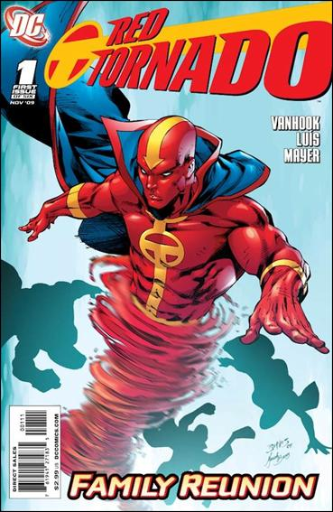 Red Tornado (2009) 1-A by DC