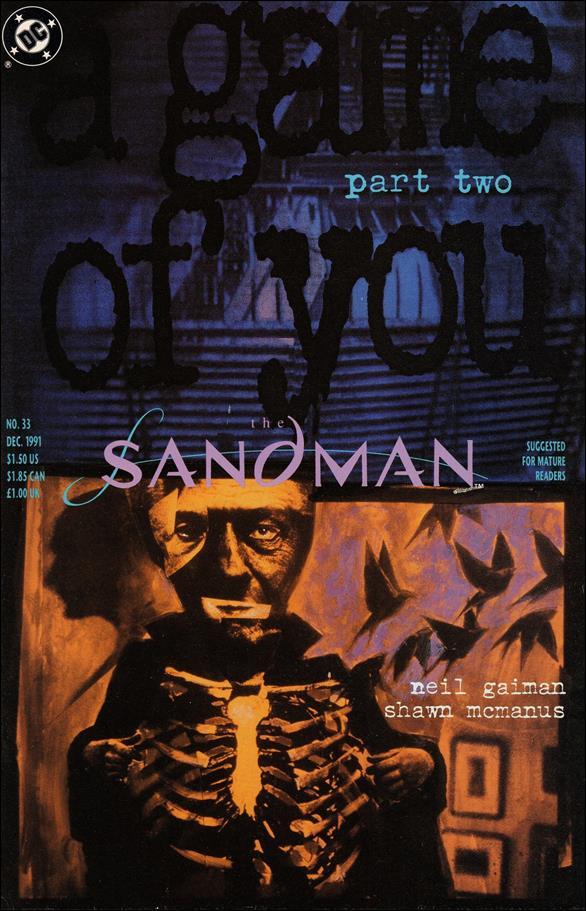 Sandman (1989) 33-A by Vertigo