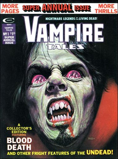 Vampire Tales Annual 1-A by Marvel