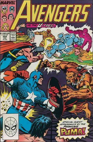 Avengers (1963) 304-A by Marvel