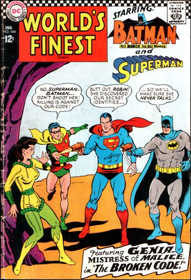 World's Finest Comics 164-A by DC