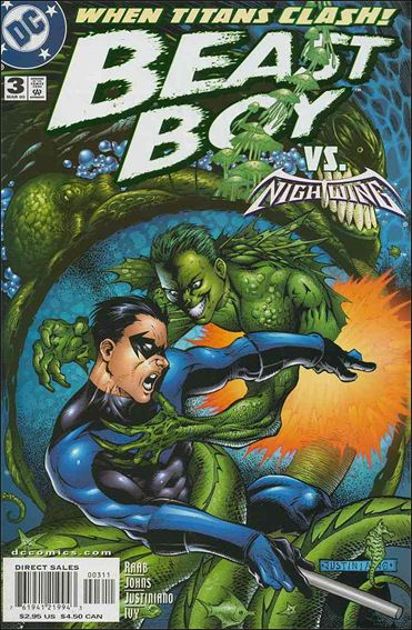 Beast Boy 3-A by DC