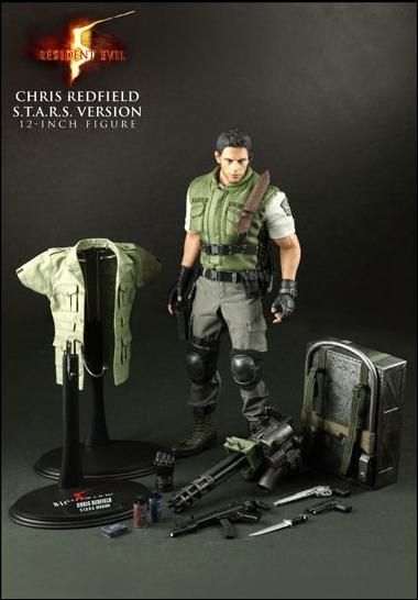 Resident Evil 5 Chris Redfield S T A R S Outfit Jan 2010