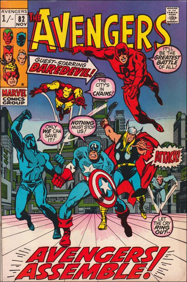 Avengers (1963) 82-B by Marvel