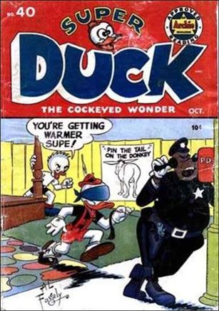 Super Duck Comics 40-A