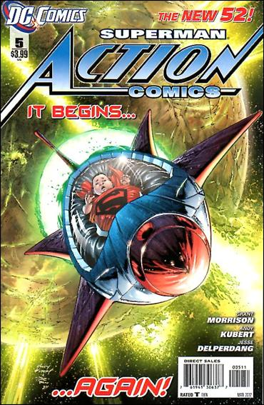 Action Comics (2011) 5-A by DC