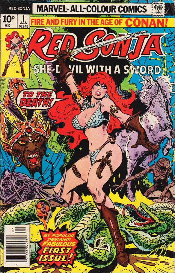 Red Sonja (1977) 1-B by Marvel