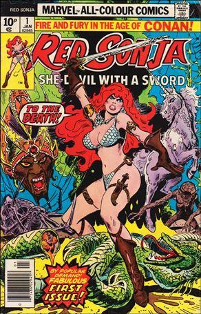 Red Sonja (1977) 1-B