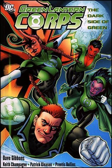 Green Lantern Corps: The Dark Side of Green 1-A by DC