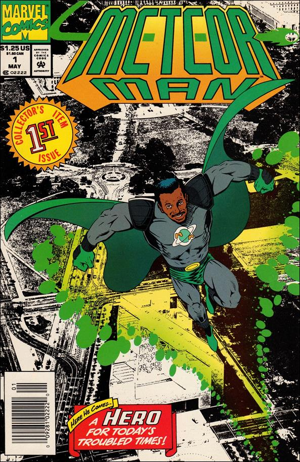 Meteor Man 1-A by Marvel