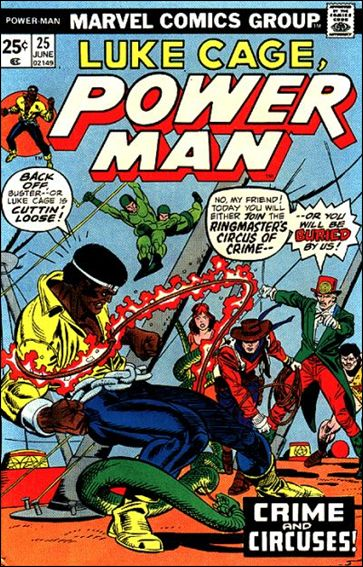 Power Man 25-A by Marvel