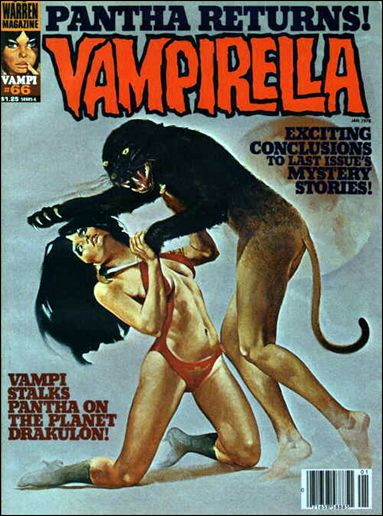 Vampirella 66-A by Warren