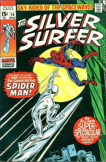 Silver Surfer (1968) 14-A by Marvel