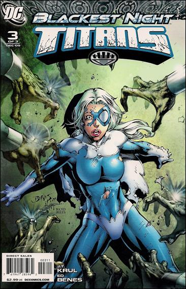 Blackest Night: Titans 3-A by DC