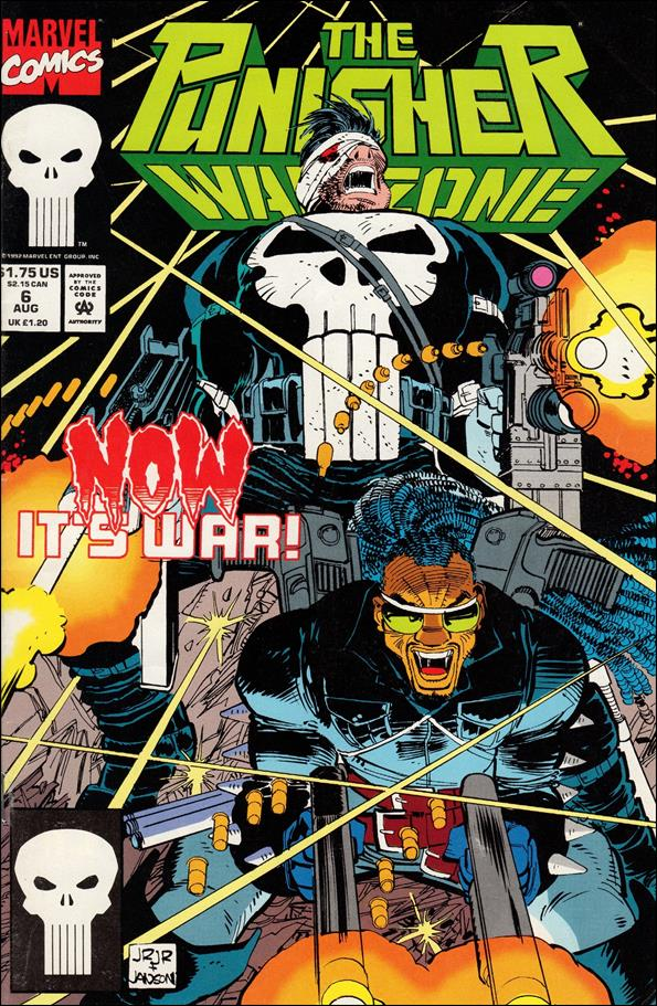Punisher: War Zone (1992) 6-A by Marvel
