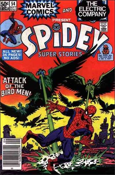 Spidey Super Stories 54-A by Marvel
