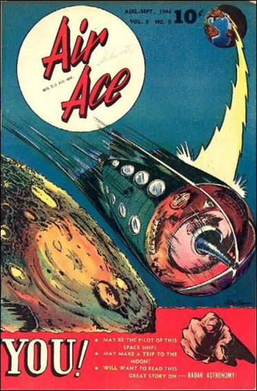 Air Ace (1945) 5-A by Street and Smith Publications
