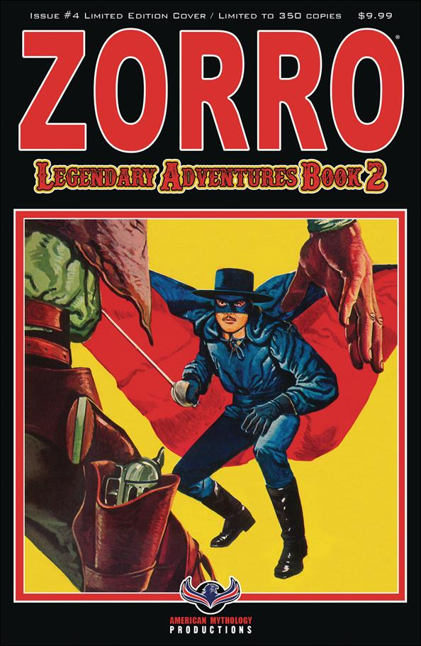Zorro: Legendary Adventures Book 2 4-B by American Mythology