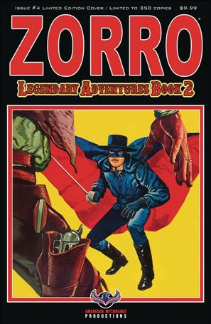 Zorro: Legendary Adventures Book 2 4-B