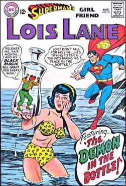 Superman's Girl Friend Lois Lane 76-A by DC