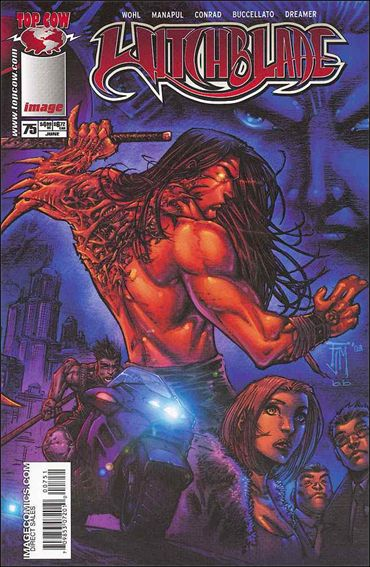 Witchblade 75-A by Top Cow