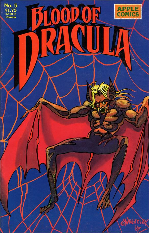 Blood of Dracula 5-A by Apple