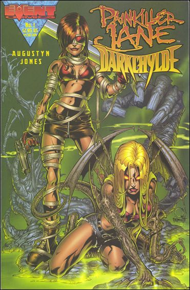 Painkiller Jane/Darkchylde 1-B by Event Comics
