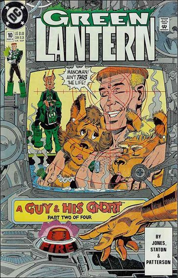 Green Lantern (1990) 10-A by DC