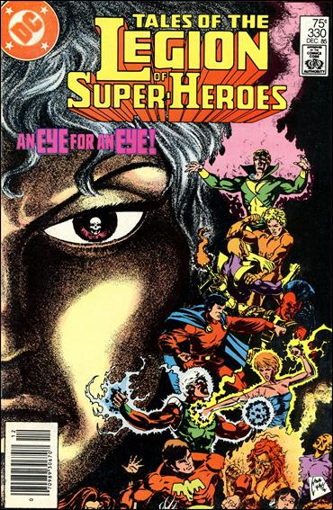 Tales of the Legion of Super-Heroes 330-A by DC