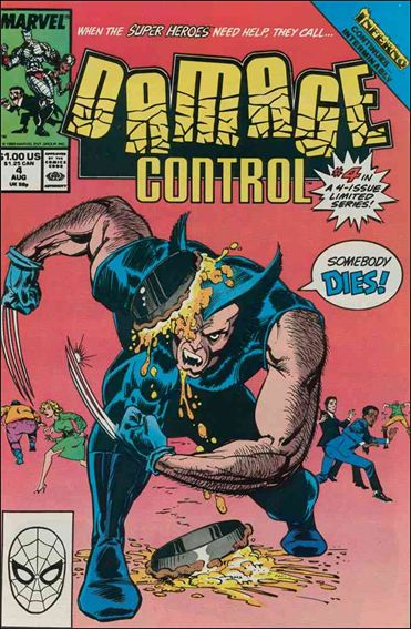 Damage Control (1989/05) 4-A by Marvel