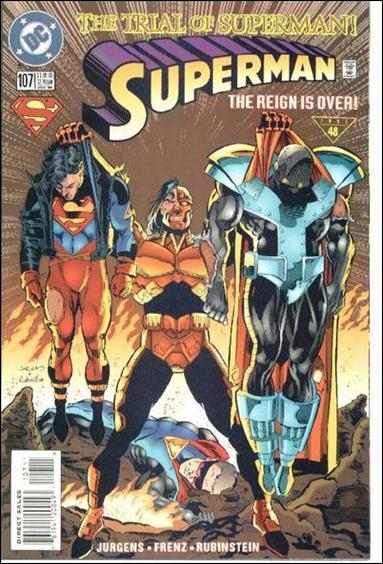 Superman (1987) 107-A by DC