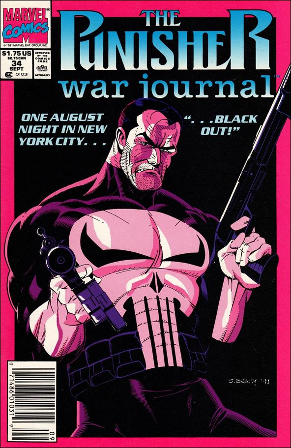 Punisher War Journal (1988) 34-A by Marvel