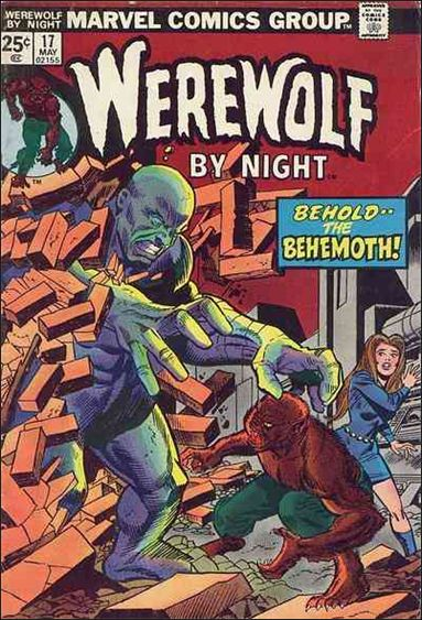 Werewolf by Night (1972) 17-A by Marvel
