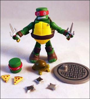 Teenage Mutant Ninja Turtles Minimates (Series 2) Sewer Raphael