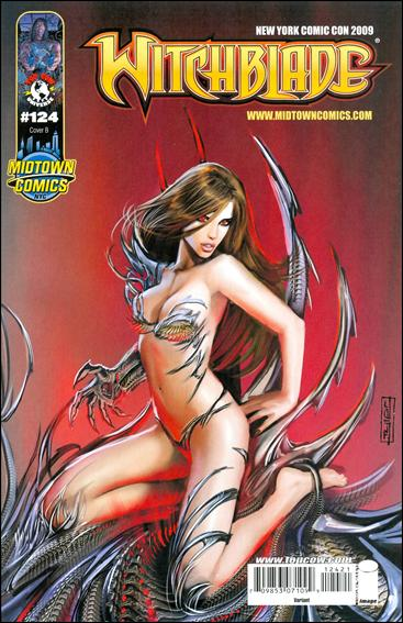 Witchblade 124-B by Top Cow