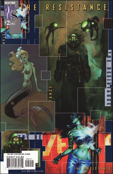 Resistance (2002) 2-A by WildStorm