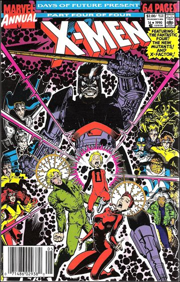 Uncanny X-Men Annual 14-A by Marvel