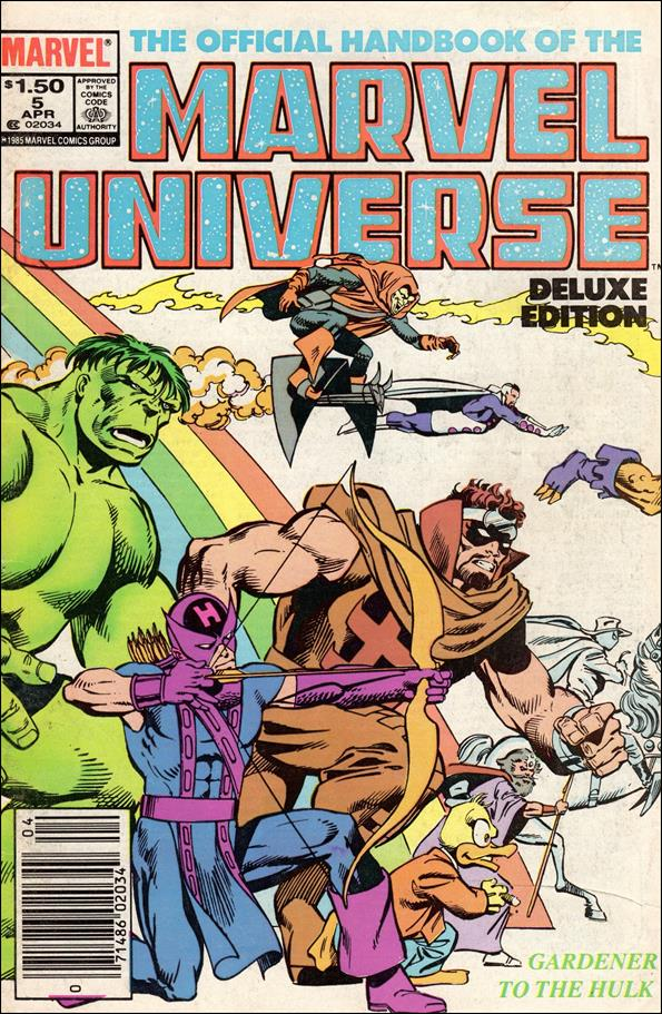 Official Handbook of the Marvel Universe (1985) 5-A by Marvel