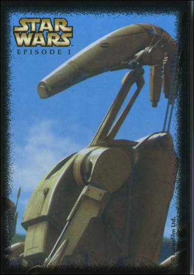 Star Wars: Episode I Vending Machine Stickers (Promo) 4 of 12-A by Lucasfilm Ltd.