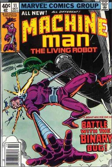 Machine Man (1978) 11-A by Marvel