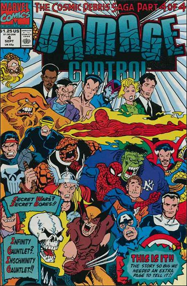 Damage Control (1991) 4-A by Marvel