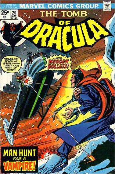 Tomb of Dracula (1972) 20-A by Marvel