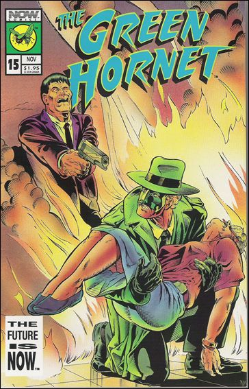 Green Hornet (1991) 15-A by Now Comics