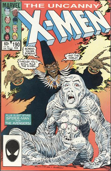 Uncanny X-Men (1981) 190-A by Marvel